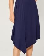 MOHITO NOWA śliczna asymetryczna sukienka XS 34