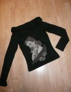 bluzka z ciekawym nadrukiem...