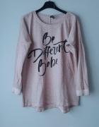 Idealna bluzka z napisami...