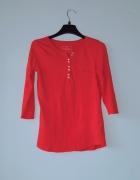 Idealna czerwona bluzka sinsay...