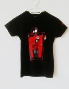 Czarna koszulka Nightmare Before Christmas Jack Skellington got...