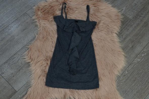 Bluzka Fresh Made z falbanką na ramiączka rozm XS S