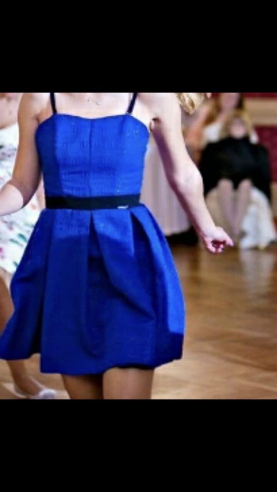 Sukienka chabrowa...