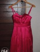 Urocza różowa rozkloszowana sukienka...