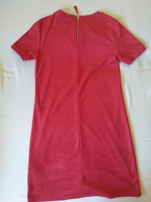 Suknie i sukienki Czerwona sukienka ZARA S
