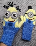 Minionki rękawiczki ocieplane dla dorosłego...