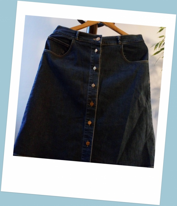 Spódnice Massimo Dutti jeansowa spódnica