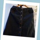 Massimo Dutti jeansowa spódnica