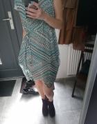 Aztecka sukienka na lato...