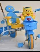 Rowerek trójkołowy dla dzieci z prowadnikiem...