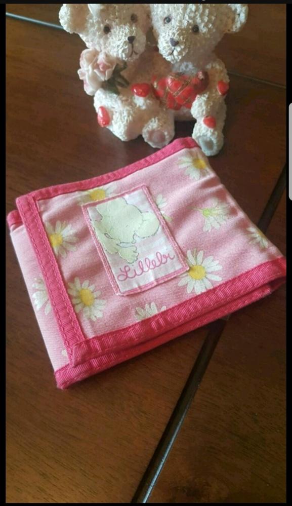 Różowy portfelik myszka...