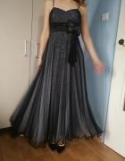 suknia unikatowa sylwester studniówka...