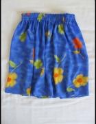 Piękna lekka spódnica na gumce rozmiar 34 XS...