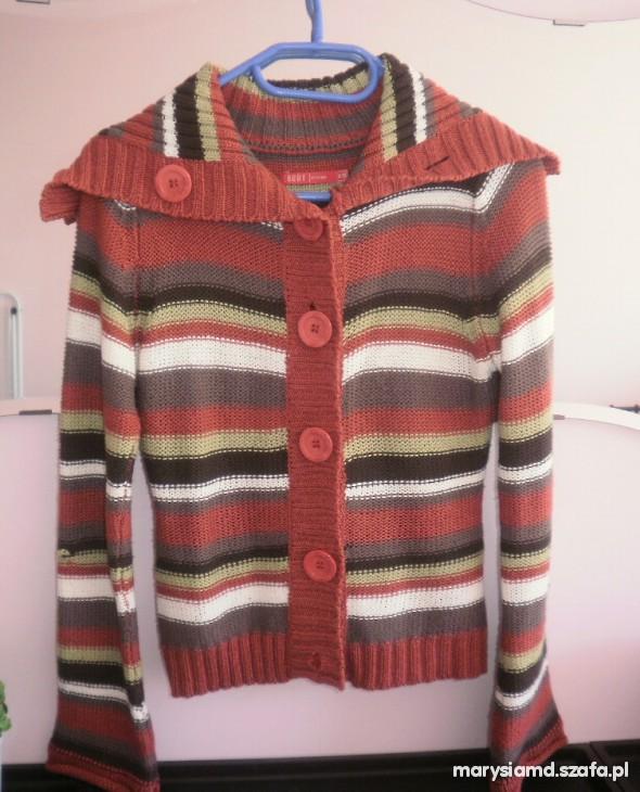 Sweter Carry w paski 34 36...