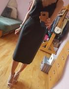 Czarna elegancka klasyczna spódnica 40...