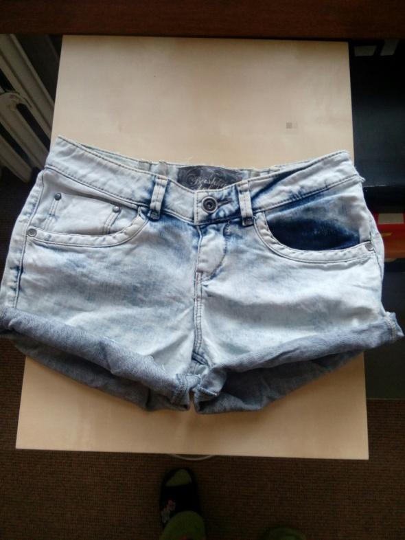 Jeansowe szorty krótkie spodenki...