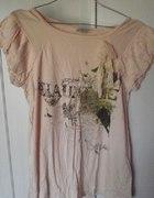 Pastelowa bluzka Pull&Bear...