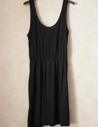 Czarna Sukienka Bez rękawów H&M