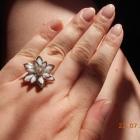 zestaw 3 pierścionków z regulacją
