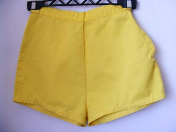Spodenki Spodenki krótkie żółte R 36