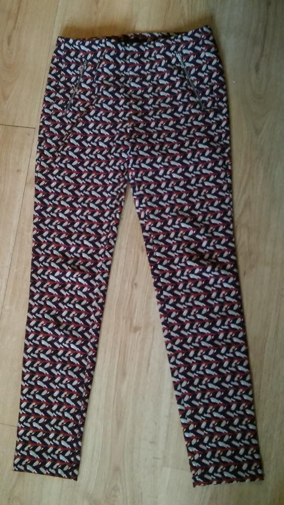 Spodnie Spodnie damskie wzór 36 ZARA