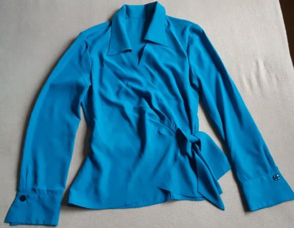 Elegancka koszula turkusowa rozm 36