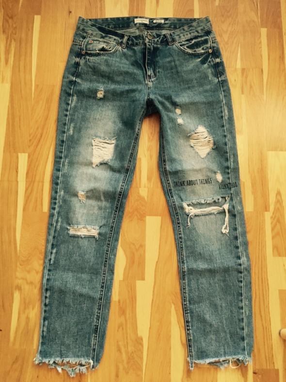 Reserved boyfriend jeansy spodnie 36 s...