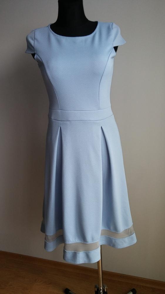Sukienka pikowana siateczka...