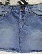 38 Jeansowa mini spódniczka...