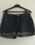 Szorty jeansowe H&M wyższy stan 36...