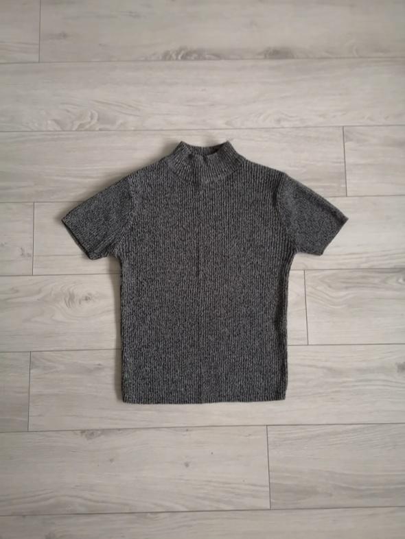 Bluzka top golf sweter prążkowany S M...