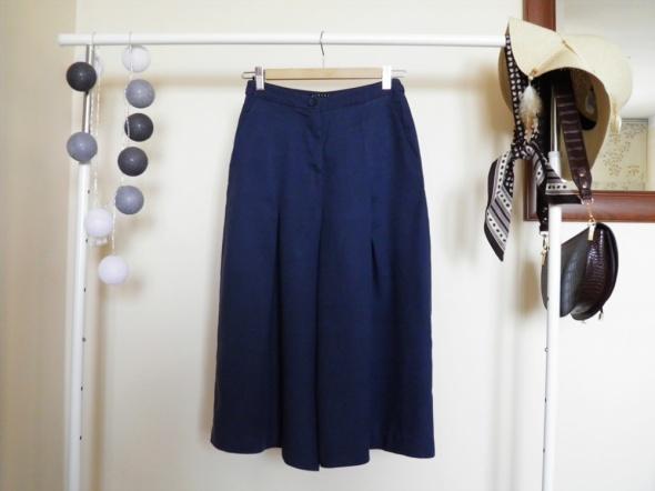 Spodnie z szerokimi nogawkami SISLEY Vintage