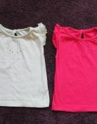 Eleganckie bluzki dla dziewczynki 2 szt...