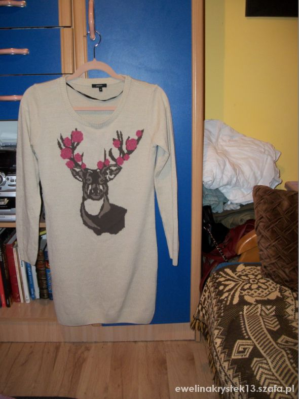 Reniferowy sweter...