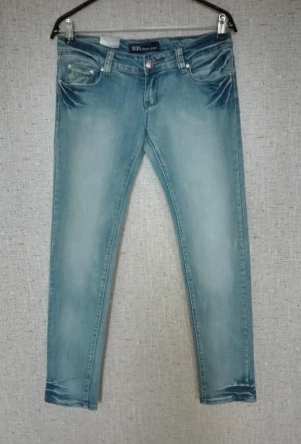 jeansy biodrówki...