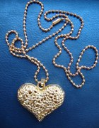 Naszyjnik złote serce