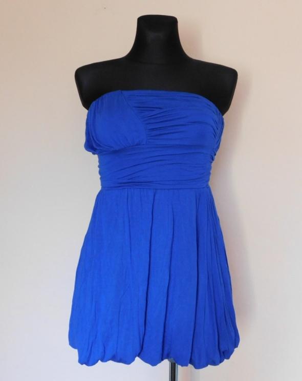 Suknie i sukienki Asos niebieska sukienka mini 34 36