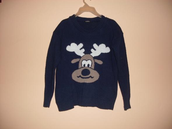 Sweterek z łosiem łoś...