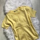 Cytrynowy sweterek