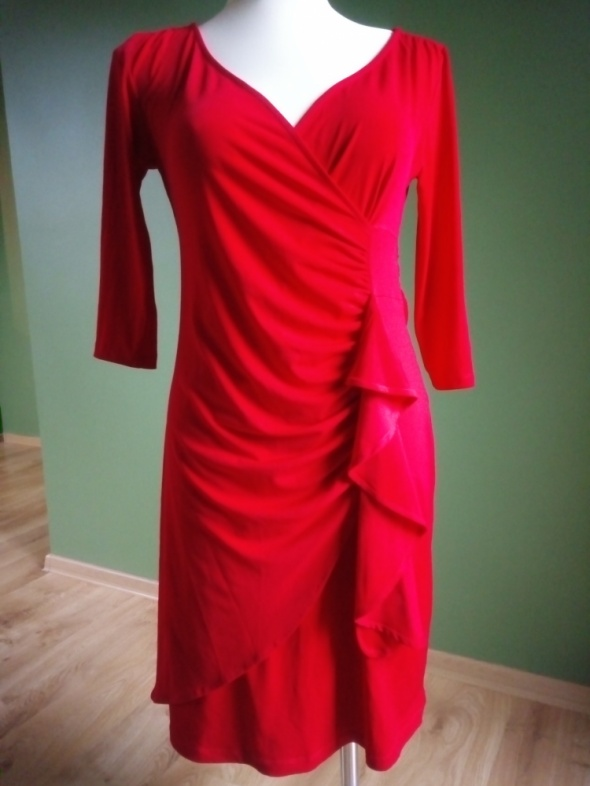 Sukienka Anna Field 38 czerwona plus druga tańsza gratis...