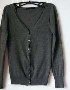 Sweterek grafitowy rozpinany Reserved R 36...