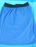 niebieska spodnica na gumce 36...