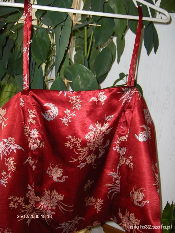 Japoński Gorset Floral Niepowtarzalny...