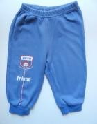 Niebieskie dresowe spodnie rozmiar 86...