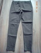 zielone spodnie rurki rozm 40 42
