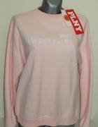 PLNY LALA bluza Sweetshirt Pink Turtleneck...