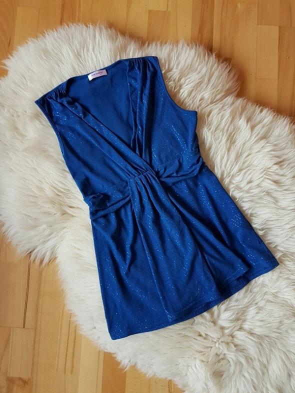 Niebieska bluzka Orsay...