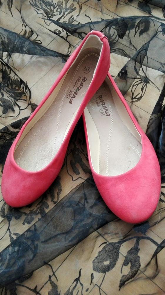 balerinki czerwone...