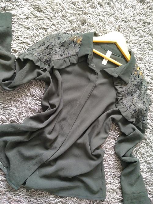 New collection koszula khaki 38 m