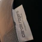Świetna srebrna tunika z USA niespotykana odkryty brzuch emo cyberpunk goth